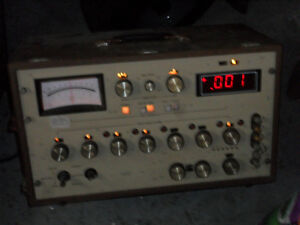 Vintage Digital Ohm Meter Ppm And Ratings Built For Extreme Accuracy