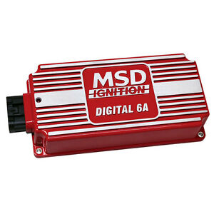 Msd 6201 Mustang 6a Ignition Box Red Cj Pony Parts