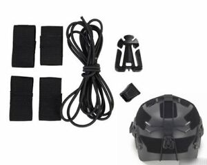 Helmet Bungee Gear Retention System for OPS-Core FAST Team Wendy EXFIL etc.