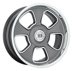 Cpp Us Mags U125 Blvd Wheels 20x8 20x9 5 Fits Ford Mustang Falcon Galaxie
