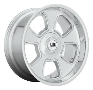 Cpp Us Mags U126 Blvd Wheels 20x8 Fits Ford Mustang Falcon Galaxie