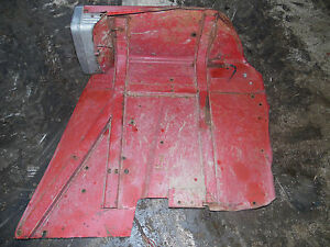 International 674 Tractor Rear Fender And Lights 1 Right Side