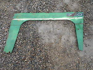 Oliver 770 Diesel Tractor Right Side Curtain