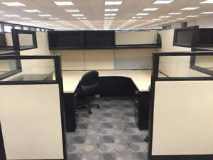Used Office Cubicles Steelcase Answer 8 5x8 5 Cubicles