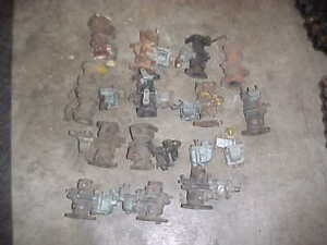 Lot Of 13 Zenith Tu4c Carburetors For Rebuild Caterpillar John Deere Pony Motor