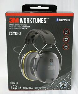 3m Worktunes Wireless Connect Hearing Protector With Bluetooth Technology
