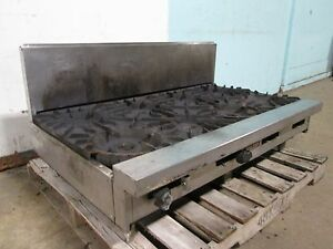 Vulcan Heavy Duty Commercial Natural Gas Counter top 8 Burner Stove range