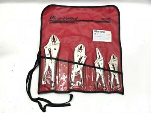 Blue Point 4pc Locking Pliers Set Vp404 cmp005980