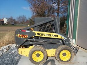 2010 New Holland L170 Skidsteer Loader