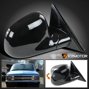94 98 Chevy S10 Blazer Gmc Jimmy Sonoma Manual Side Mirror Right Passenger Side
