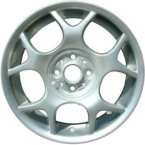 59363 Refinished Mini Cooper 2002 2009 16 Inch Wheel Oe White Full Face Painted