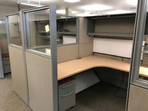Used Office Cubicles Used Haworth Compose 6x8 Cubicles