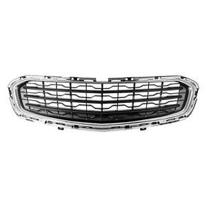 Gm1200728c New Front Center Grille Fits 2015 2015 Chevrolet Cruze