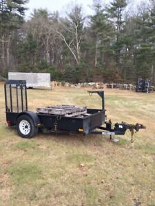 Small Heavy Duty Trailer Was Made To Haul A Toro Dingo Very Rugged Great Shape