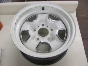 Clean 74 75 Oldsmobile Olds Cutlass 442 14x7 Hurst Rally Wheel Rim Mj Code