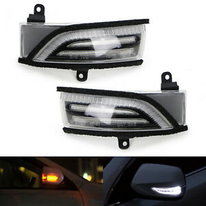 Clear Lens Switchback Sequential Flash Led Side Mirror Turn Signal For Subaru
