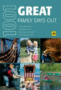 Great Family Days Out Aa 1001 Aa 1001 Series By Aa Paperback Book The Fast