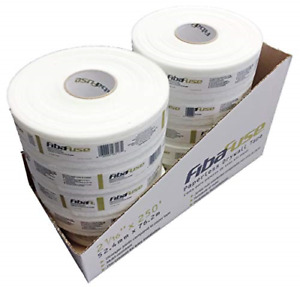 Adfors Fibafuse Fdw8652 Paperless Drywall Joint Tape 2 In X 250 Ft White Pack
