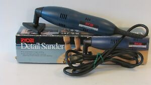 RYOBI DETAIL SANDER #DS1000 W25 EXTRA SANDING DISC'S FREE SHIPPING PRE-OWNED
