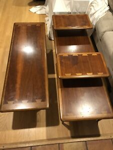 Lane Coffee 2 End Tables Style No 900 01