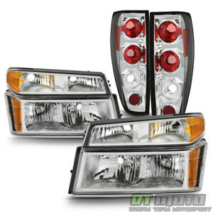 2004 2012 Chevy Colorado Canyon Headlights Signal Corner Lights Tail Lamps Set