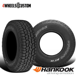 2 X New Hankook Rf10 Dynapro At M 33 12 5 15 108r Premium All Terrain Tire