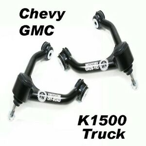 88 98 Chevy gmc Truck K1500 4wd Upper Control Arm Kit 1 3 Lift Freedom Off road