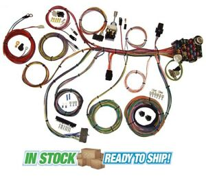 70 73 Chevy Camaro Classic Update American Autowire Wiring Harness Kit 510034