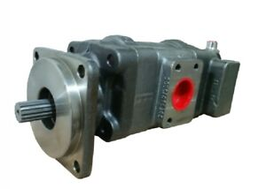 Hydraulic Pump For New Holland 555e Loader Backhoe Part 85801065