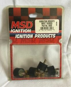 Msd Ignition 8800 Vibration Mounts Msd 7 Series Package Of 4 New