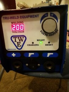 Twe 321 Cd Stud Welder 5 16 Max Diameter Capacity