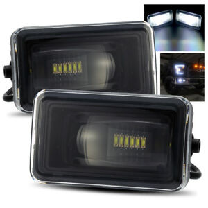 For 2015 2017 Ford F150 Hi Power Led Projector Fog Lights Bumper Driving Lamps