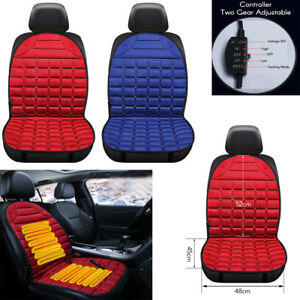 Car Heated Seat Winter Warmer Cushion Cover Auto 12v Heating Heater Pad 2 Colors