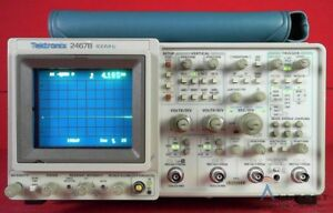 Tektronix 2467b 4 channel 400mhz High Writing Speed Oscilloscope B052788