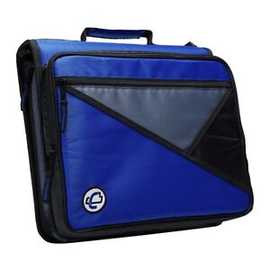 Case it 1590377 Universal Laptop Zipper Binder O ring 2 In Blue