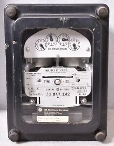 Ge Polyphase Watthour Amp Meter 701x90g1