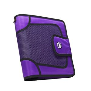 Case it 1590355 Strap Binder With Tab File O ring 2 In Purple