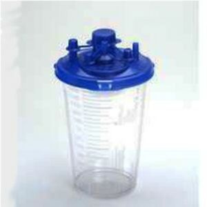 Ind Cardinal Health Suction Canister 1200cc With Locking Lid pack Of 1