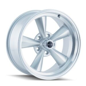 Cpp Ridler 675 Wheels 17x7 17x8 Fits Chevy Impala Chevelle Ss