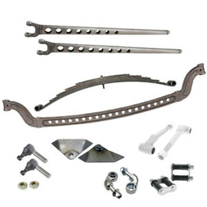 Speedway Motors Straight Axle Front Suspension Kit Drilled I Beam