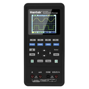 Portable Hantek 3in1 Digital Oscilloscope 2 Channels Usb Scope Meter 40mhz P5b6