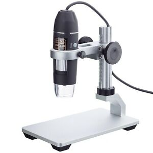 Amscope 10x 200x 2mp 8 led Zoom Usb Digital Microscope For Windows