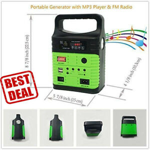 Portable Generator Solar With Solar Panel Solar Power Inverter Electric Generato