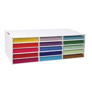 Classroon Keepers 085944 Construction Paper Storage 15 Slot