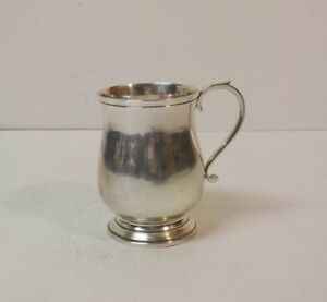 Currier Roby Ny Sterling Silver Cup Mug J L Hudson Co