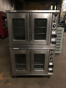 Toastmaster Double 208v Electric Convection Commercial Restaurant Bakery Oven