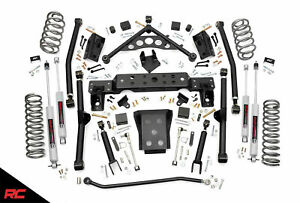 Rough Country 4 Lift Kit Fits 1999 2004 Jeep Grand Cherokee Wj 4wd Long Arm