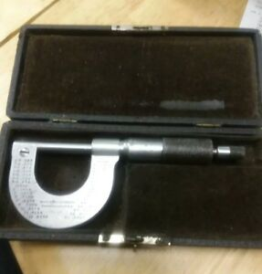 Antique Brown And Sharpe 19 Micrometer Caliper