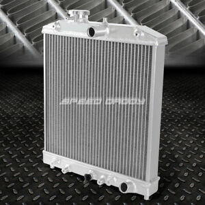 3 Row 60mm Core Full Aluminum Racing Radiator 92 00 Civic Eg Ek Del Sol Integra