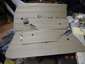 1970 Buick Skylark New Repo Set Door Panels Saddle Custom 70 Gs 350 455 Coupe
